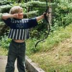 joven arquero