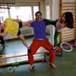 Zirkusschule in den Sommerferien mit Circus firulete von Daniel Torron Mack - Akrobatik